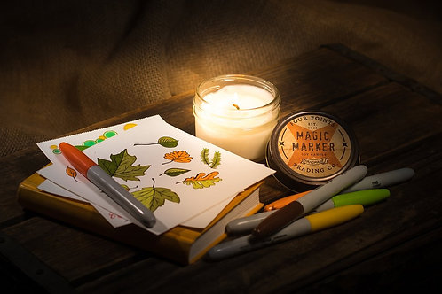 Magic Marker Soy Candle