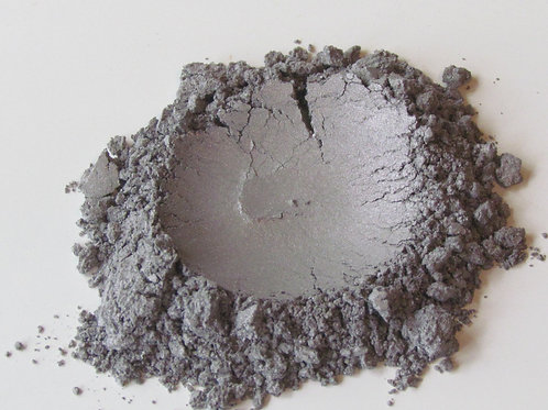 Natural Eye Makeup   Antique Silver   Raw Beauty Minerals