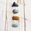 Thumbnail: Creativity + Peace * Aquamarine, Bloodstone, Chrysocolla & Tiger Eye