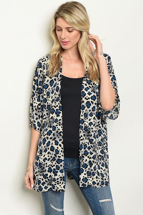 Leopard Print Kimono (2 colors)