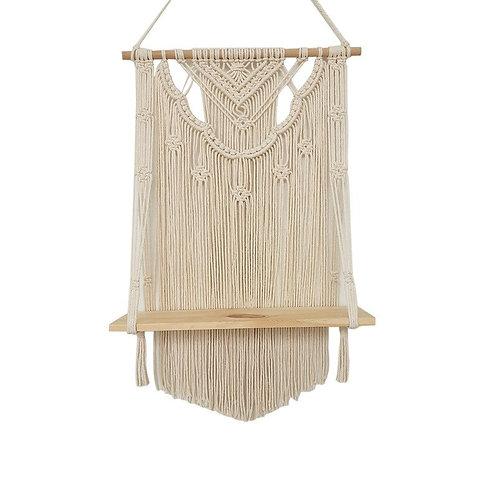 Hanging Tapestry + Shelf
