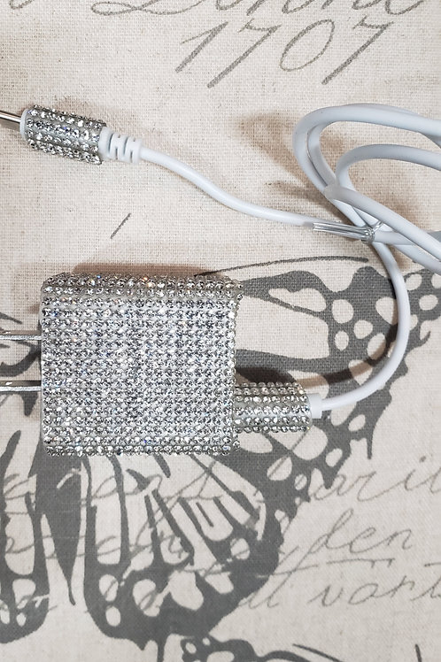 iPhone OR Android Blinged-out Lightning Charger