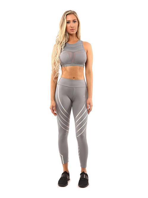 Laguna Set - Leggings & Sports Bra - Grey