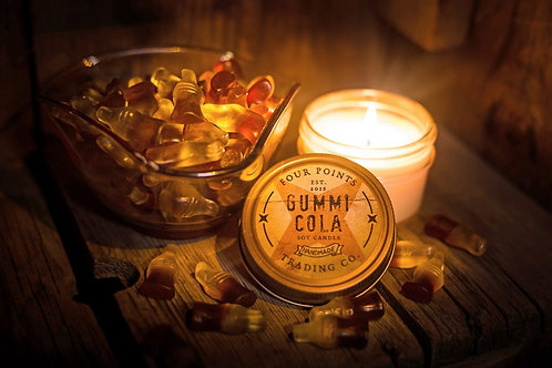 Gummi Cola Soy Candle