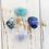 Thumbnail: Communication & Relief * Aquamarine, Sodalite, Lapis Lazuli & Blue Lace Agate