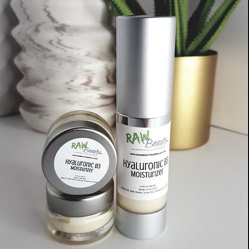 Hyaluronic B3 Moisturizer | Vegan Day and Night Face Cream