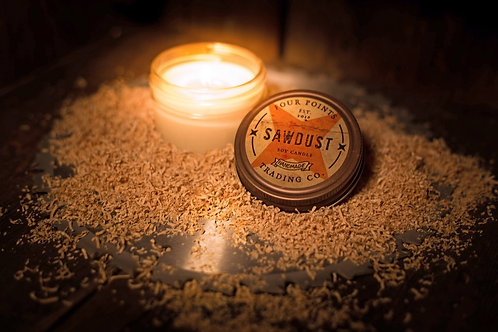 Sawdust Soy Candle
