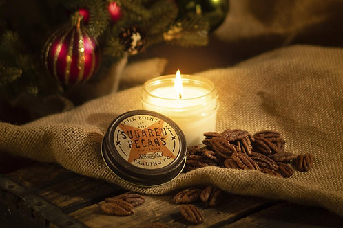 Sugared Pecan Soy Candle