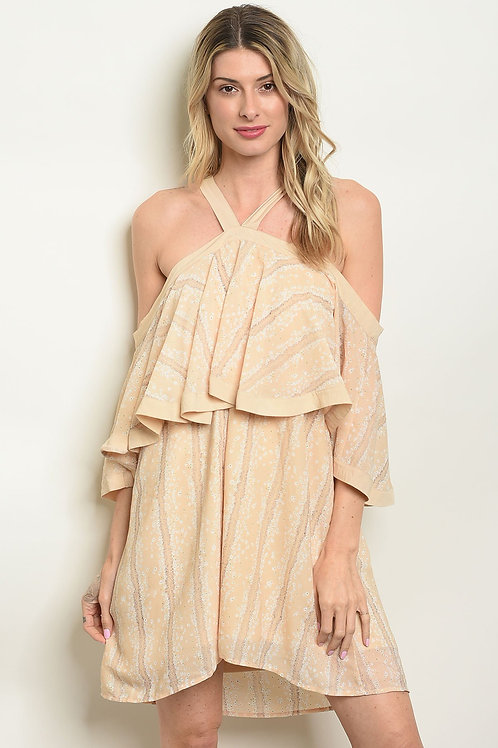 Peek-A-Boo Shoulder Dress