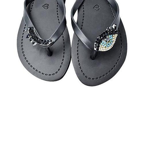 Eyes - Women's Flat Sandal