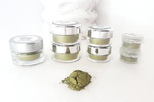 Green Apple Loose Eye Shadow   Raw Beauty Minerals