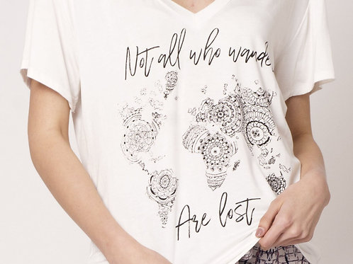 Not All Who Wander V-Neck