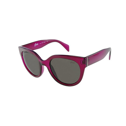 Cosette Sunglasses in Bordeaux Red