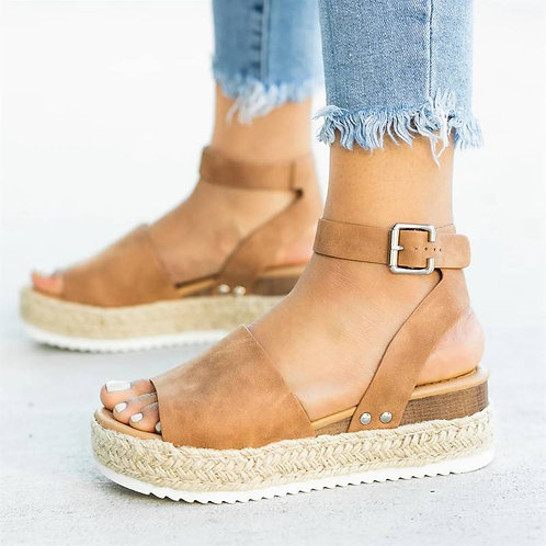 Vegan Platform Wedges