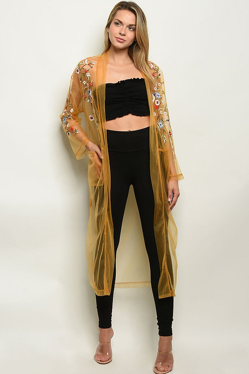 'Mustard Is The New Black' Kimono