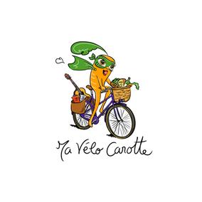 """""""Ma Vélo Carotte"""" pour La Carotte Bistrocréatif à Mayenne"""