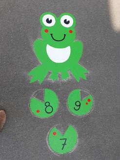 Marelle grenouille