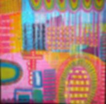 bold intuitive painting,shanti george.JP