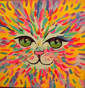Fun Acrylic Painting! (Cat).jpg