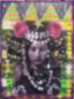 mini gypsy mixed media art workshop demo