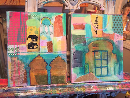 Indian Doors & Arches series demo pieces