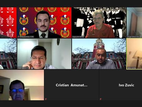 Consejo de Oficiales Generales del CB. de Santiago, entrega Reconocimiento por Destaca Labor