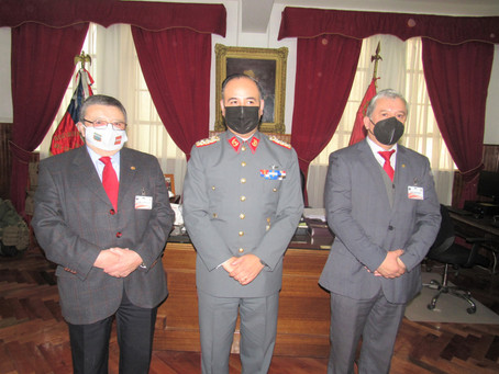 """Visita Protocolar, con Ocasión de la Conmemoración del """"Día de las Glorias del Ejército de Chile"""""""