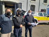Cuerpo de Bomberos de Valparaíso recibió importante Donación de la Armada de Chile