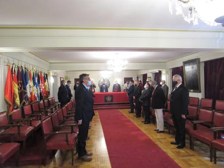 """""""Gran Logia de Chile"""" Rindió Homenaje y Entrego Diploma y Medalla """"Germán Tenderini"""""""