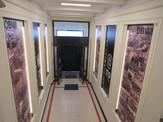 """Instalación de """"Túnel del Tiempo"""", en Hall de Acceso del Edificio de Nuestra Dirección General"""