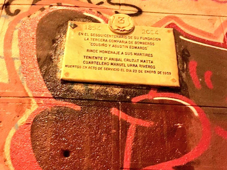 Nuevo Atentado contra el Patrimonio de los Bomberos de Valparaíso