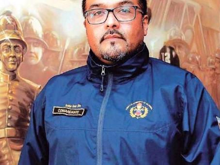 Comandante Rodrigo Romo, se refiere a últimas Emergencias que Afectaron a Hogares de Adultos Mayores