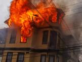 Complejo  Incendio Estructural Afectó a un Establecimiento para Adultos Mayores en Playa Ancha