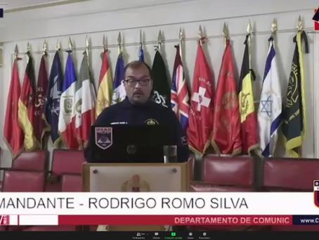 Presentación de los Procesos de Acreditación del Cuerpo de Bomberos de Valparaíso