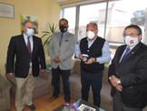 Delegación de Oficiales Generales Visitó al Gobernador de la Región de Valparaíso