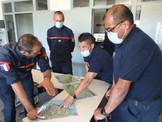 Comandante Rodrigo Romo Silva, Desarrolla una Serie de Actividades Bomberiles en Francia