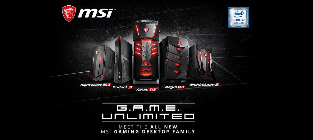 MSI DESKTOP SERIES