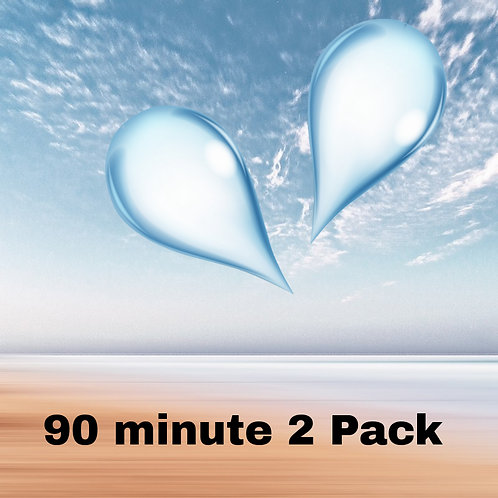 2x 90 Minute Floats (Gift Certificate Package)