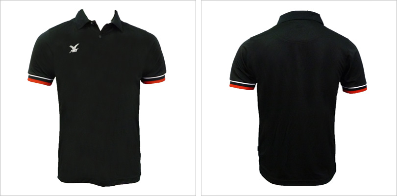 30 Black Polo T-shirt