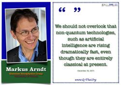 Univ. Prof. Dr. Markus Arndt