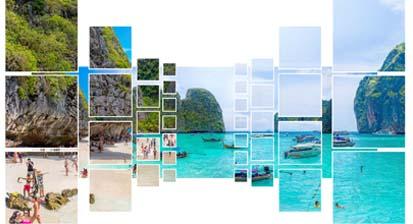เกาะพีพี ก็ถ่ายจากพื้นดิน