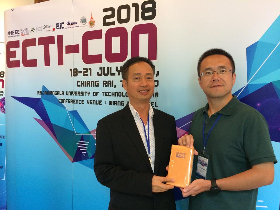 Prof.Kosin Chamnongthai & Dr.ZhengQiang Yin