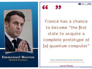 Quote (April 2021) - Emmanuel Macron