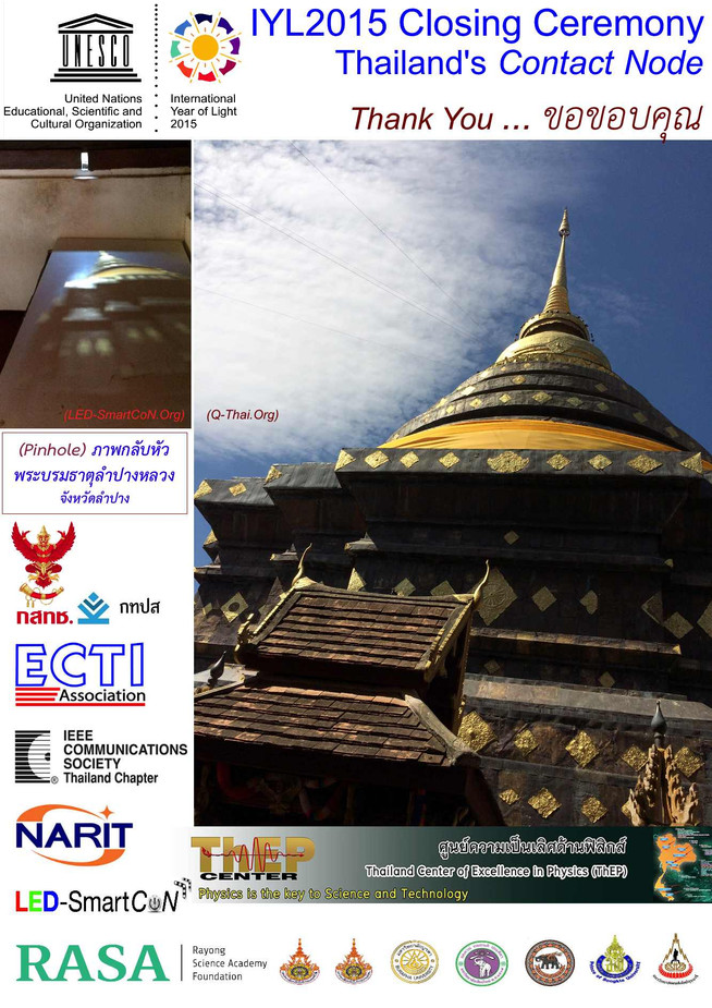Quantum Communications and Computing: Thailand's Nation-Wide Realization 2015