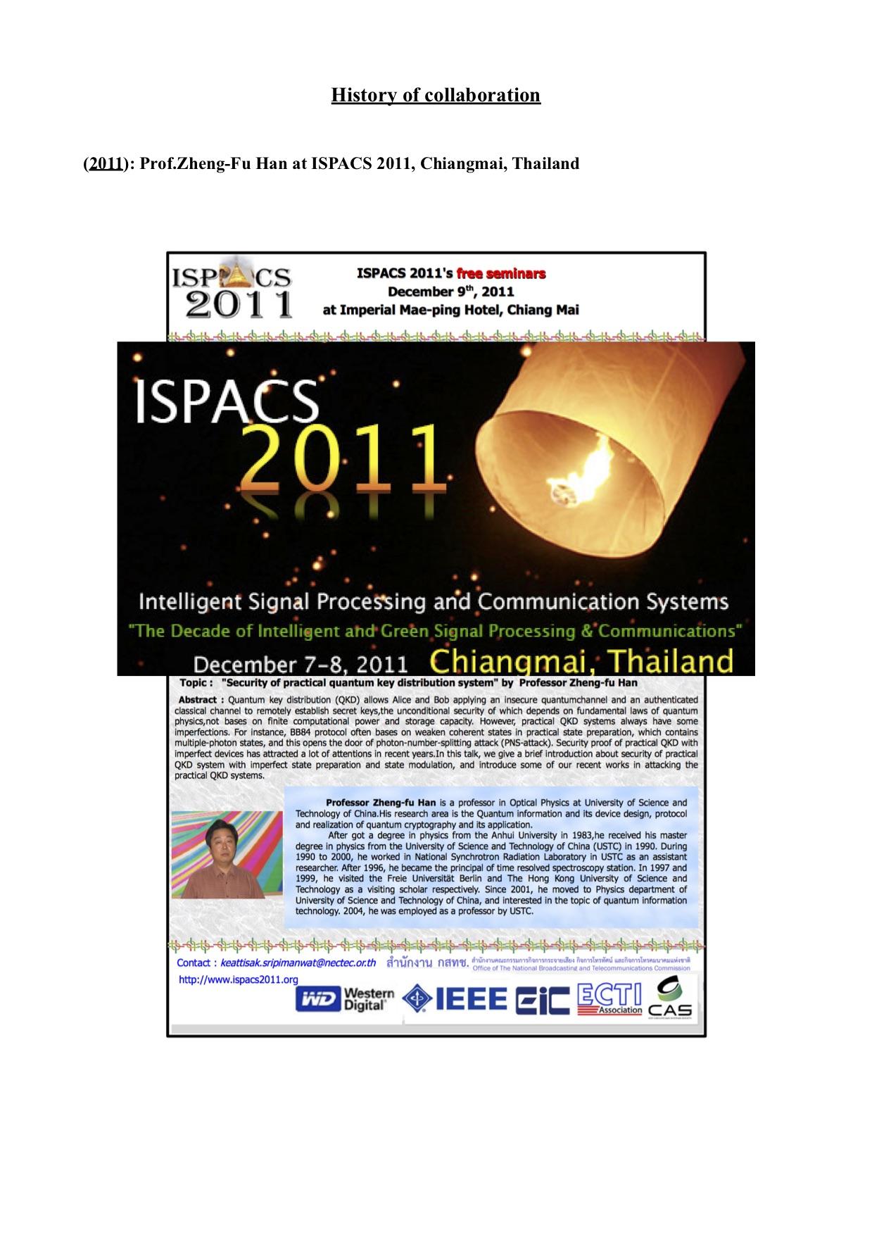 ISPACS 2011