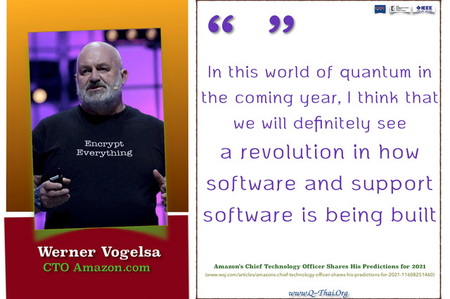 Quote (Jan 2021) - Amazon's Chief Technology Officer Shares His Predictions for 2021