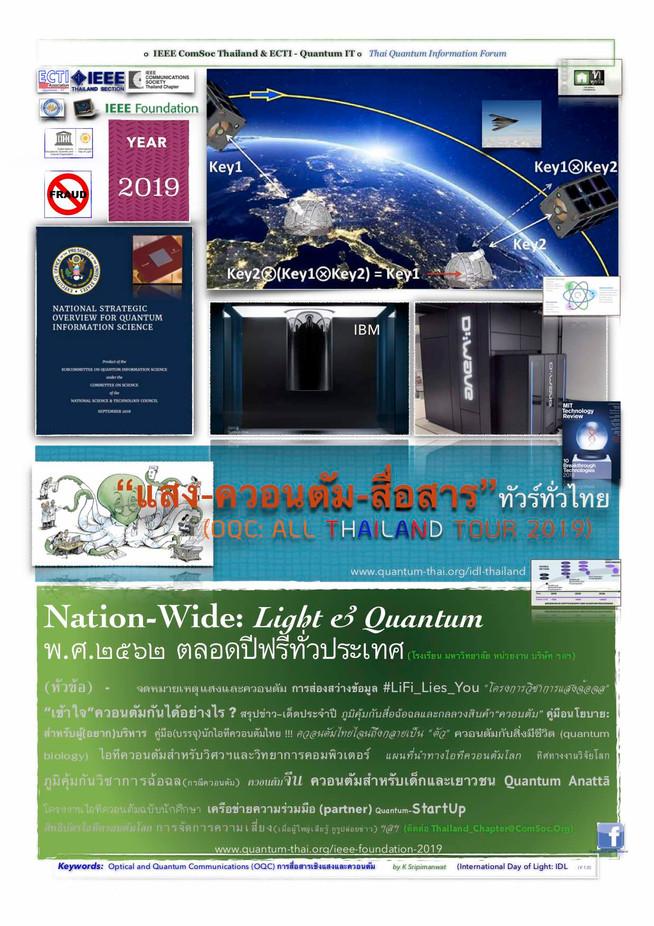 Nation-Wide: Light & Quantum 2019