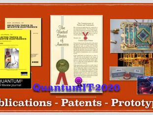 บทเรียนสอน(ใจ)ไทย - Quantum IT 2020's publications, patents, and prototypes