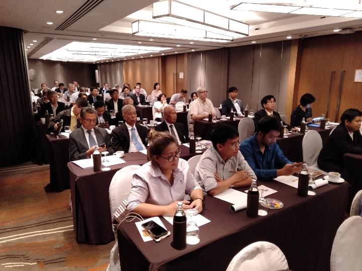 At the talk 2