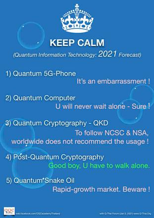 Quantum Information Technology - 2021 forecast